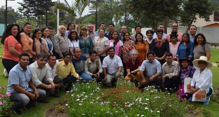 Todos los participantes: Foto: MINEDU